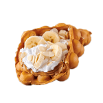 Peanut butter<br>+ banana <br>+ almond flakes