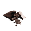 Dark chocolate flakes