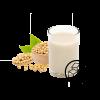 Soy milk with no added sugar